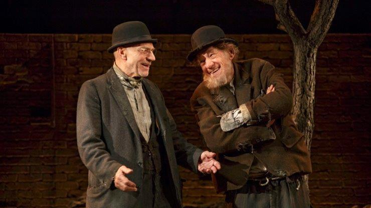 'Waiting for Godot' & 'No Man's Land' Theater Review: Ian McKellen & Patrick Stewart Lighten Up on the Angst