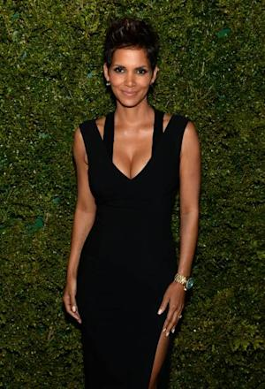 Halle Berry attends a dinner in honor of Halle Berry as she joins Michael Kors and the United Nations World Food Programme to help fight world hunger. The event was held at The Pool Room at the Four Seasons on April 6, 2013 in New York City -- Getty Images