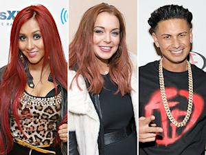 """Snooki Thinks Lindsay Lohan and Pauly D """"Made Out"""""""