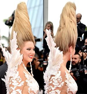 Russian TV Star Elena Lenina Has the Wildest Hair and …