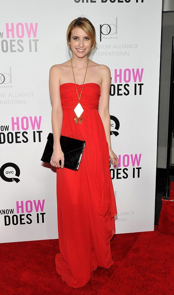 I Don't Know How She Does It NY Premiere 2011 Emma Roberts