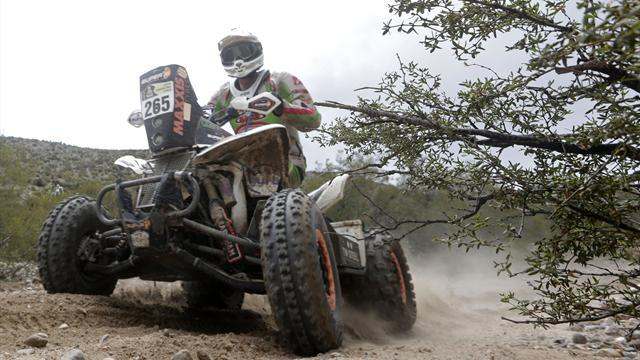 Dakar - Quads: Van Biljon gets second stage win