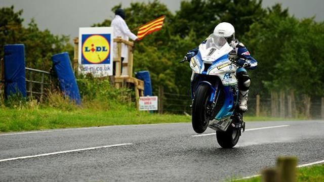 Motorsports - Ulster GP: Harrison bags top-six hat-trick