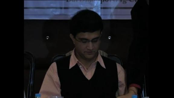 Sourav Ganguly urges cricket fans to be patient