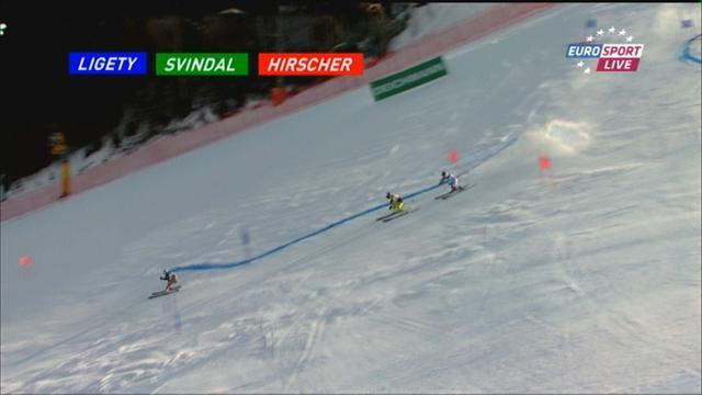 Alpine Skiing - Ligety beats Svindal and Hirscher in race