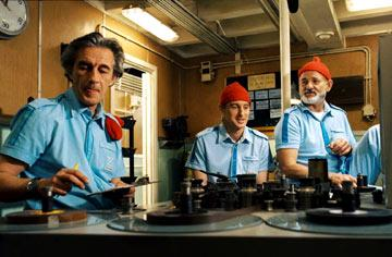 Pawel Wdowczak , Owen Wilson and Bill Murray in Touchstone Pictures' The Life Aquatic with Steve Zissou