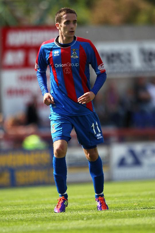 Nick Ross is determined to cement his place in the Inverness team