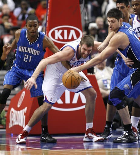 76ers top Magic 78-61 for 3rd straight victory