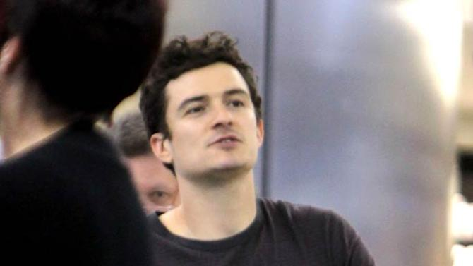 Orlando Bloom Flynn LAX