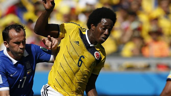 Premier League - Aston Villa sign Colombia World Cup star Carlos Sanchez