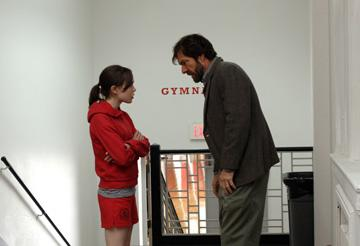 Ellen Page and Dennis Quaid in Miramax Films' Smart People