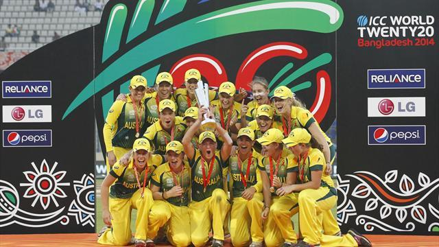 Cricket - Australia hammer England to retain T20 title