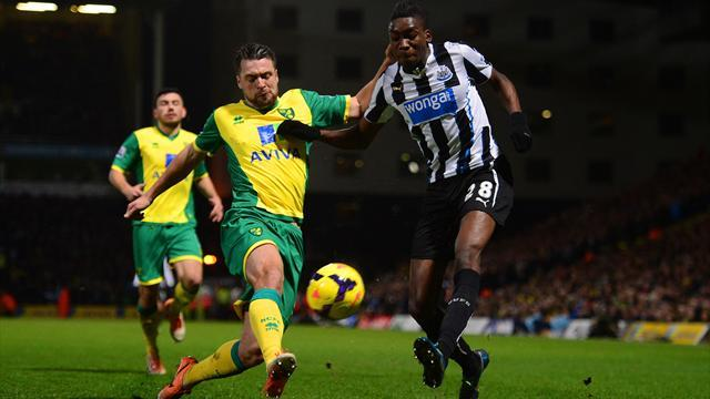 Premier League - Norwich and Newcastle enjoy barmy goalless epic