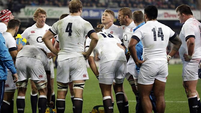 Rugby - England fall one point short against All Blacks