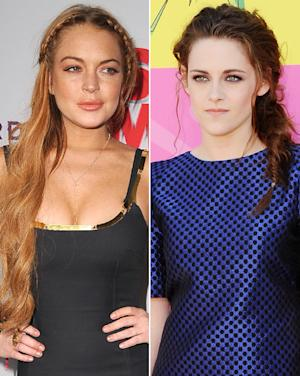 Lindsay Lohan Disses Kristen Stewart on Chelsea Lately