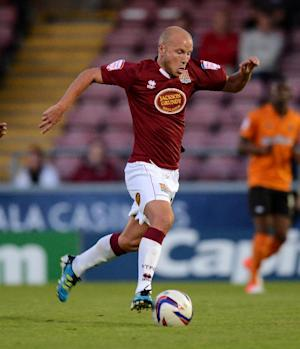 Luke Guttridge has suffered a broken metatarsal