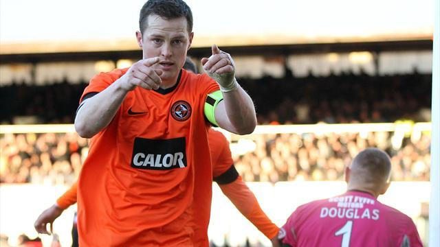 Scottish Football - Round-up: United bag point in eight-goal thriller