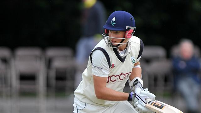 Cricket - Root staying grounded