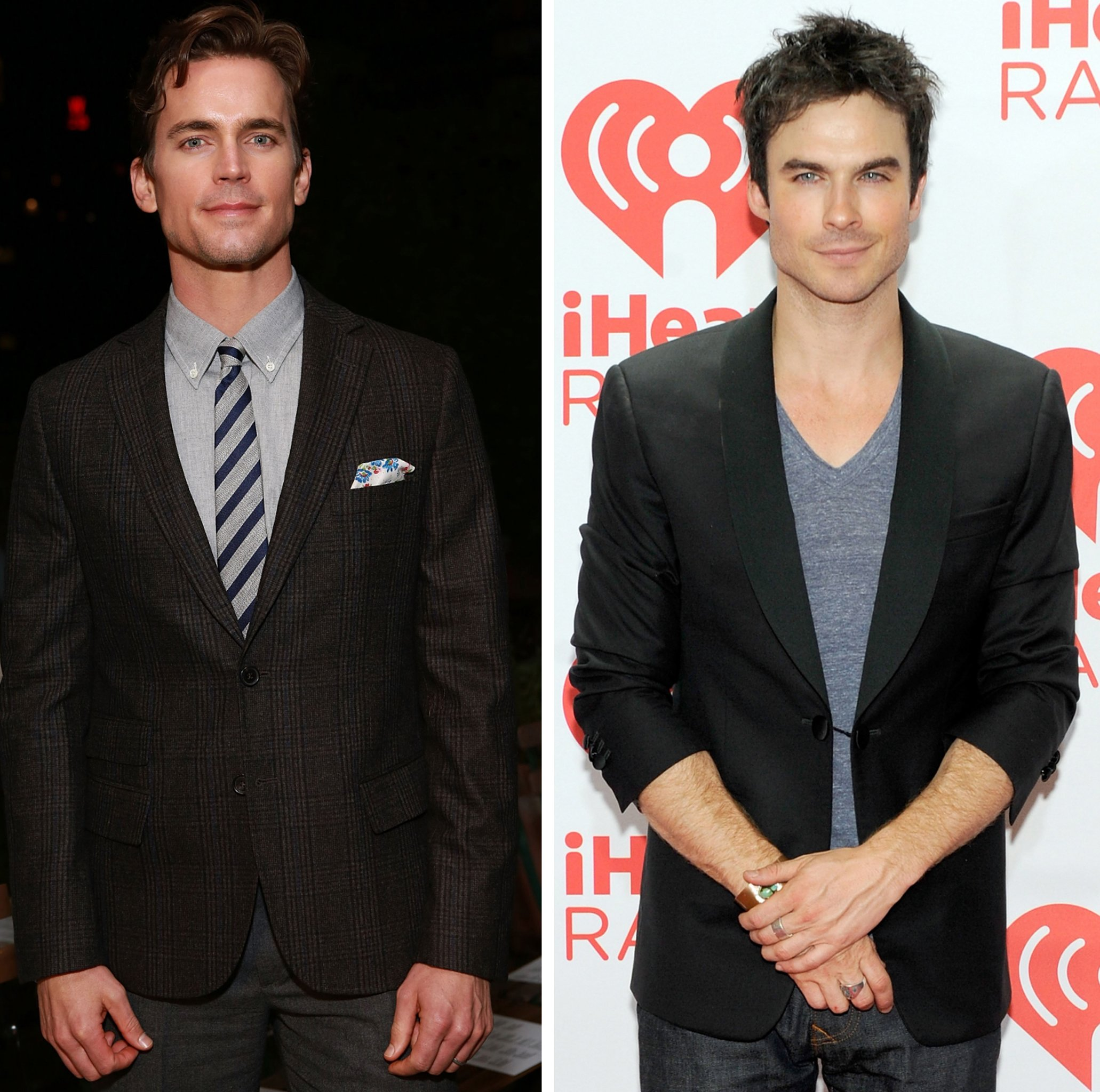 Matt Bomer and Ian Somerhalder