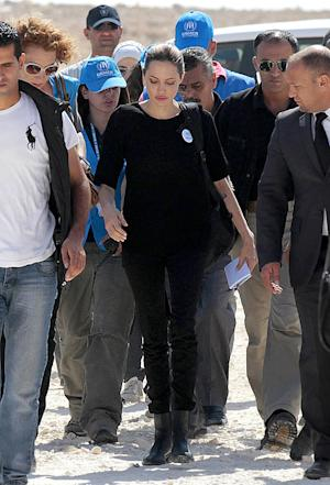 "Angelina Jolie Visits Syrian Refugees in Lebanon: ""They Are So Generous and Kind"""
