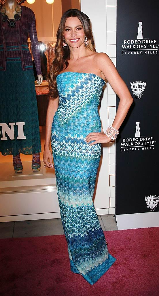 Sofia Vergara Rodeo Drive Style Awards