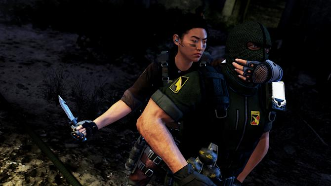 "This undated publicity photo released by Zipper Interactive/Sony Computer Entertainment America shows a scene from the video game, ""SOCOM 4: U.S. Navy SEALs."" (AP Photo/Zipper Interactive/Sony Computer Entertainment America )"
