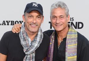 Johnny Chaillot, Greg Louganis | Photo Credits: Frederick J. Brown/AFP/Getty Images