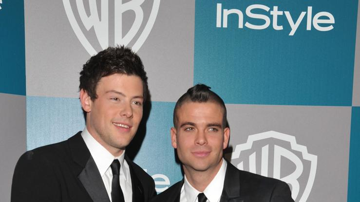 Cory Monteith and Mark Salling