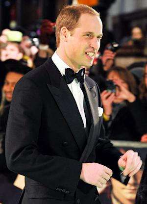 Prince William Attends Royal Hobbit Premiere Without Pregnant Kate Middleton