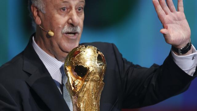 World Cup - Del Bosque: Unity key to glory in Brazil