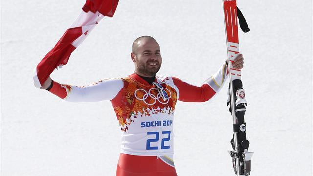 Alpine Skiing - 'Lucky loonie' helps Hudec end Canadian medal drought