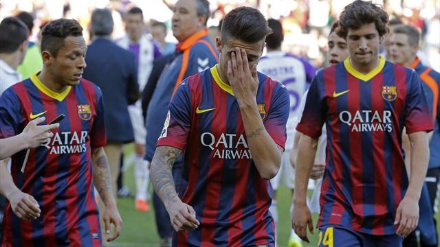 Champions League - Nasri: Valladolid defeat proves Barcelona only 'human'