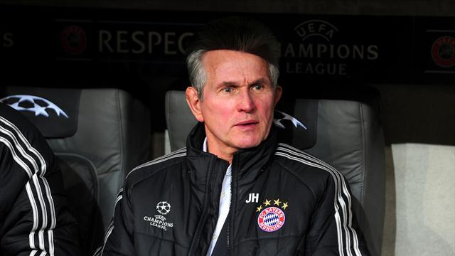 Champions League - Heynckes: Bayern's win at Juve was deserved