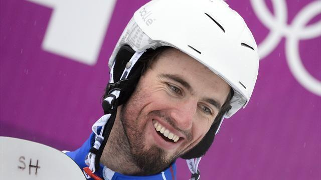 Snowboard - Vaultier wins gold with damaged cruciate