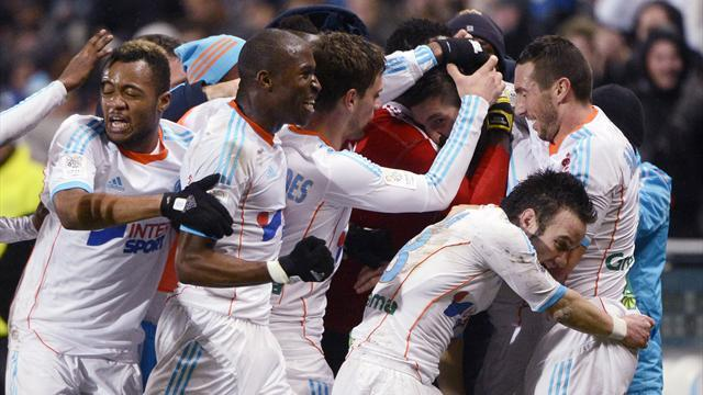 Ligue 1 - Late Gignac winner gives Marseille thrilling win