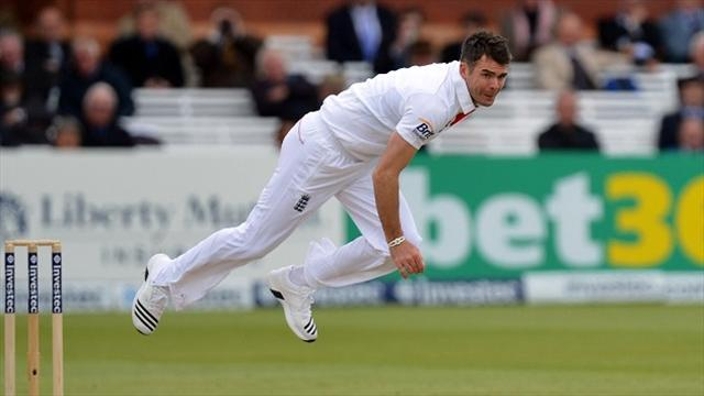 Cricket - Anderson gives England the edge
