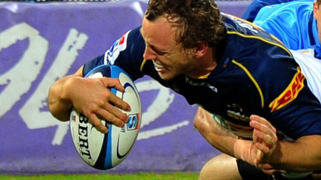Super Rugby - Mogg stars as Brumbies down Reds in opener