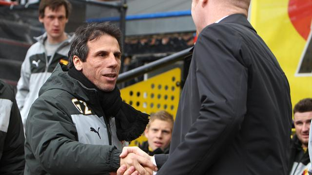 Football - Zola: We need to cut out errors