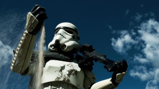 Star Wars toy photographs