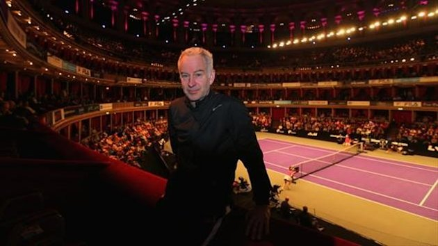 John McEnroe at the Royal Albert Hall in London (Getty Images)