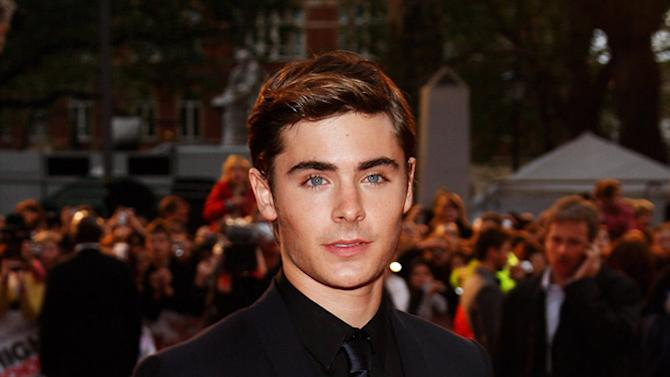 Zac Efron arrives at the High School Musical 3: Senior Year UK Premiere held at the Empire Cinema Leicester Square on October 7, 2008 in London, England.