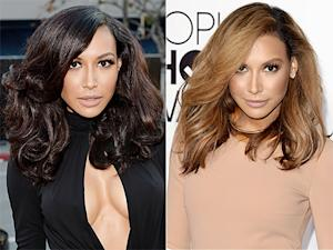 Naya Rivera Goes Blonde at the 2014 People's Choice Awards: Picture