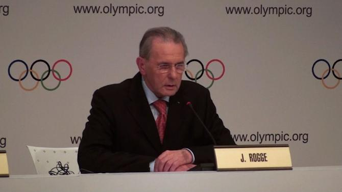Outgoing IOC chief Rogge puts faith in Rio games