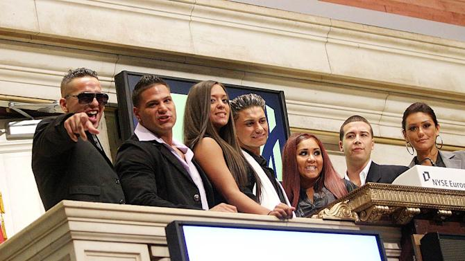 J Ersey Shore Cast NYSE