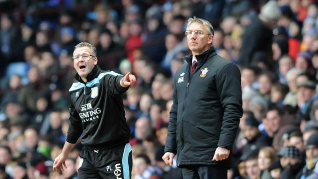 Premier League - Managers: Lambert blames ref for Villa loss