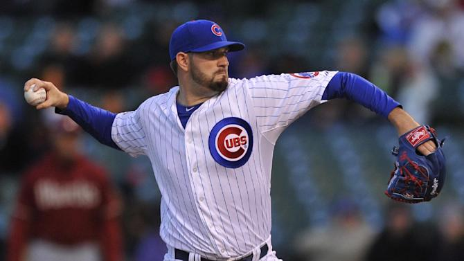 Hammel, Olt lead Cubs past D-backs