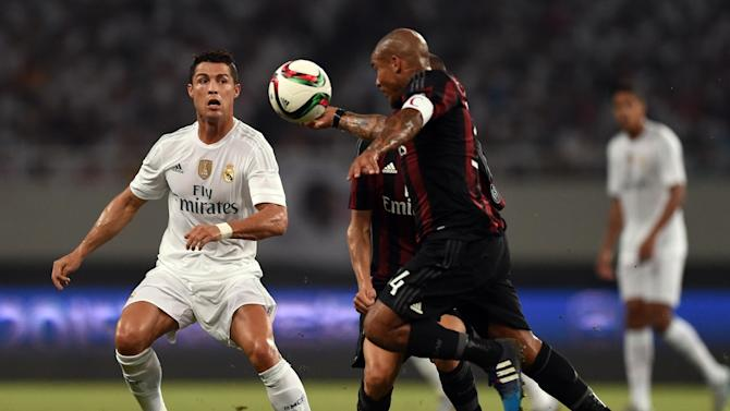 Friendly match - Real Madrid edge past AC Milan after 22 penalties