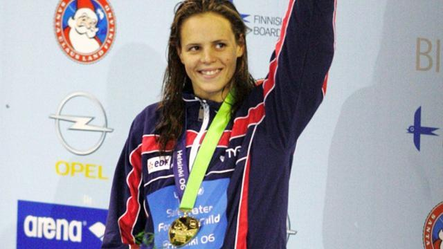 Swimming - Laure Manaudou retires from swimming