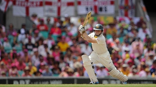 Ashes - Rogers scores century as Australia pile on the runs