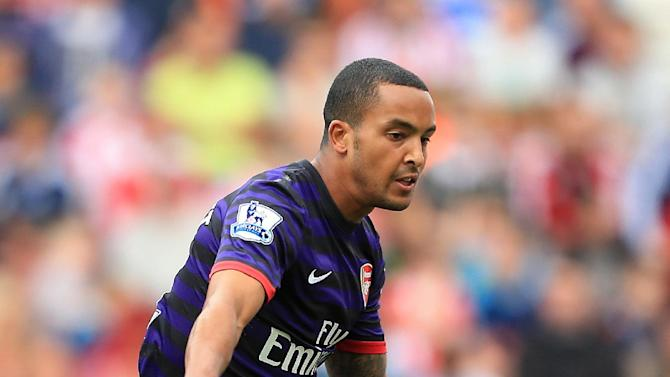 Theo Walcott's Arsenal contract is into the final season